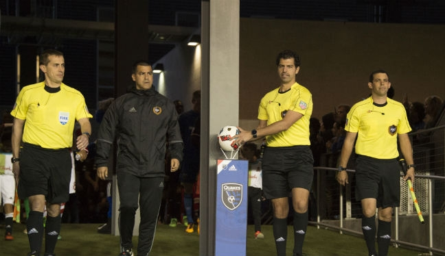 how to become an mls referee