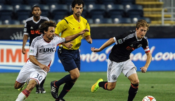 Fotis Bazakos in US Open Cup action